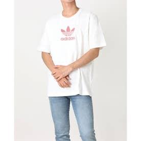 トレフォイル グラディエント Tシャツ (ホワイト)