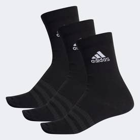 クルーソックス 3足組 / Crew Socks 3 Pairs (ブラック)
