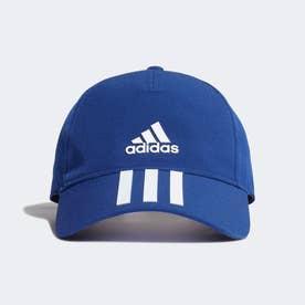AEROREADY 3ストライプス ベースボールキャップ / AEROREADY 3-Stripes Baseball Cap (ブルー)
