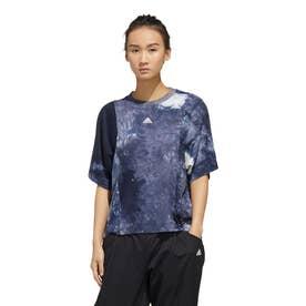 レディース 半袖機能Tシャツ WMHEクラウディーダイTシャツ FM5280