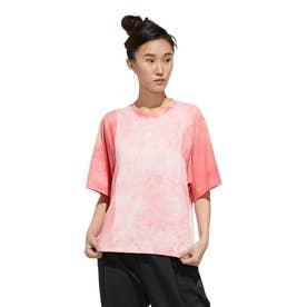 レディース 半袖機能Tシャツ WMHEクラウディーダイTシャツ FM5257