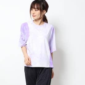 レディース 半袖機能Tシャツ WMHEクラウディーダイTシャツ FM5258