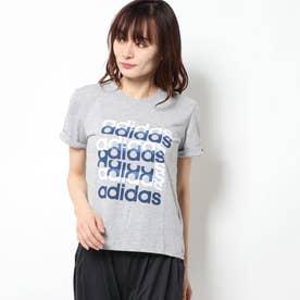 レディース 半袖Tシャツ W グラフィックTシャツ FM6156
