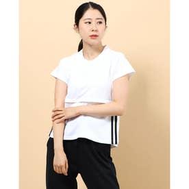 レディース フィットネス 半袖Tシャツ FL2047