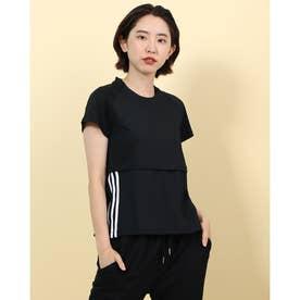 レディース フィットネス 半袖Tシャツ FL2048