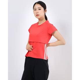 レディース フィットネス 半袖Tシャツ FJ7294