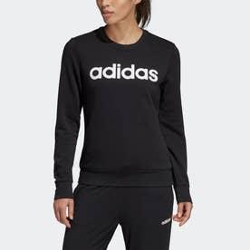 エッセンシャルズ リニア スウェットシャツ / Essentials Linear Sweatshirt (ブラック)