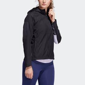 オウン ザ ラン フード付き ウインドジャケット / Own the Run Hooded Wind Jacket (ブラック)