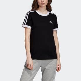 スリーストライプス Tシャツ [3-Stripes Tee] (ブラック)