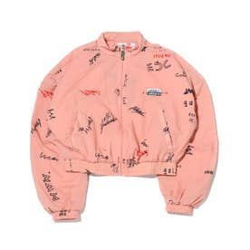 TRACK TOP (PINK)