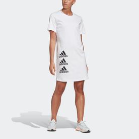マストハブ スタック ロゴドレス / Must Haves Stacked Logo Dress (ホワイト)