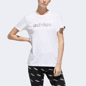エンブロイダード Tシャツ / Embroidered Tee (ホワイト)