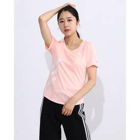 レディース 陸上/ランニング 半袖Tシャツ RUN IT TEE 3S W GC6889 (ピンク)