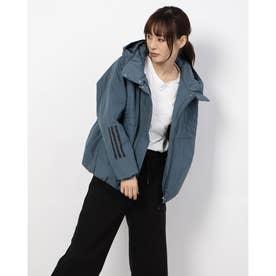 レディース 中綿ジャケット WSTYLEジャケット GF7023 (ブルー)