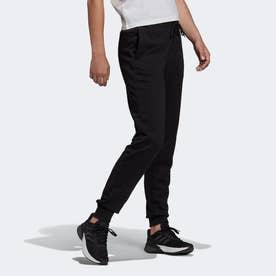 エッセンシャルズ フレンチテリー ロゴ パンツ / Essentials French Terry Logo Pants (ブラック)