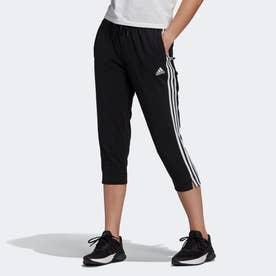エッセンシャルズ シングル ジャージー 7分丈パンツ / Essentials Single Jersey 3/4 Pants (ブラック)