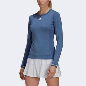 テニス フリーリフト 長袖Tシャツ / Tennis Freelift Long Sleeve Tee (ブルー)