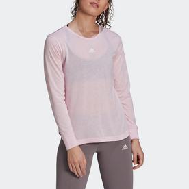 U4U AEROREADY 長袖Tシャツ / U4U AEROREADY Long Sleeve Tee (ピンク)