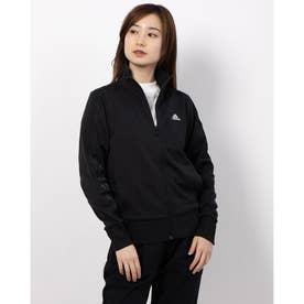 レディース 長袖ジャージジャケット WMH3Sウォームアップジャケット GF6948 (ブラック)