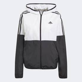 カラーブロック ジャケット / Colorblock Jacket (ブラック)