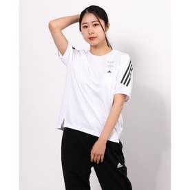 レディース 半袖機能Tシャツ WMHE3STTEE GM8831 (ホワイト)