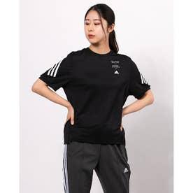 レディース 半袖機能Tシャツ WMHE3STTEE GM8832 (ブラック)