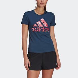 トロピカル グラフィック 半袖Tシャツ / Tropical Graphic Tee (ブルー)