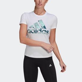 トロピカル グラフィック 半袖Tシャツ / Tropical Graphic Tee (ホワイト)