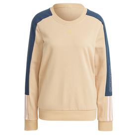 エッセンシャルズ ロゴ カラーブロック スウェット / Essentials Logo Colorblock Sweatshirt (ベージュ)