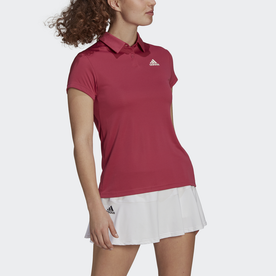HEAT. RDY テニス ポロシャツ / HEAT. RDY Tennis Polo Shirt (ピンク)