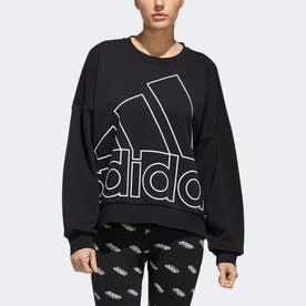 グラフィック スウェットシャツ / Graphic Sweatshirt (ブラック)