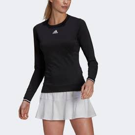 テニス フリーリフト 長袖Tシャツ / Tennis Freelift Long Sleeve Tee (ブラック)