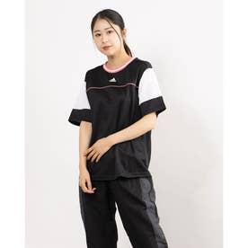 レディース 半袖機能Tシャツ WTEAMTEE GM8794 (ブラック)