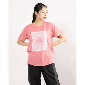 レディース 半袖機能Tシャツ WMHEWORDGRAPHICTEE GM8806 (ピンク)