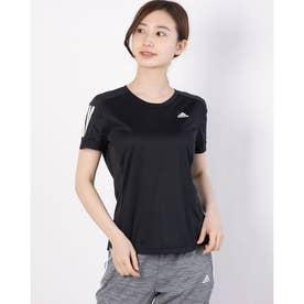 レディース 陸上/ランニング 半袖Tシャツ OWN THE RUN TEE FS9830 (ブラック)