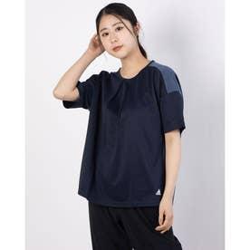 レディース 半袖Tシャツ WMHTEROTEE GM8788 (ネイビー)