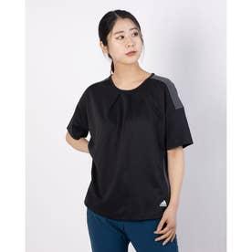 レディース 半袖Tシャツ WMHTEROTEE GN8030 (ブラック)
