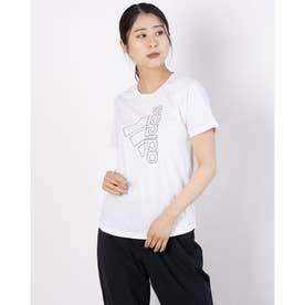 レディース 半袖機能Tシャツ WD2MTECHBOSTシャツ FQ1987 (ホワイト)