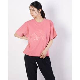 レディース 半袖Tシャツ WBOSCLOGOTEE GM0711 (ピンク)