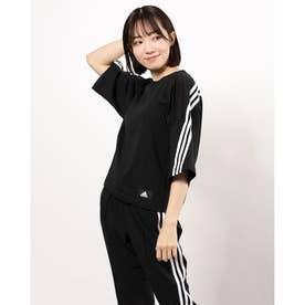 レディース 半袖Tシャツ W3stPBTEE GN1837 (ブラック)