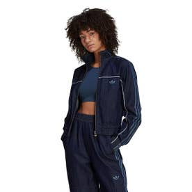 DENIM TRACK TOP (INDIGO)