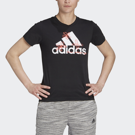 フローラル グラフィック 半袖Tシャツ / Floral Graphic Tee (ブラック)