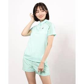 レディース ゴルフ 半袖シャツ HEAT.RDY 半袖ボタンダウンシャツ GM3749 (ブルー)