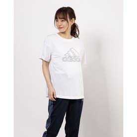 レディース 半袖機能Tシャツ WSPORTSPRIMEBLUETEE GM0682 (ホワイト)