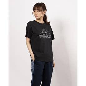 レディース 半袖機能Tシャツ WSPORTSPRIMEBLUETEE GM0685 (ブラック)