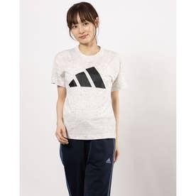 レディース 半袖機能Tシャツ WWINNERS3barlogoTEE GP9639 (ホワイト)