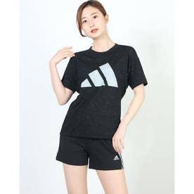 レディース 半袖機能Tシャツ WWINNERS3barlogoTEE GP9632 (ブラック)