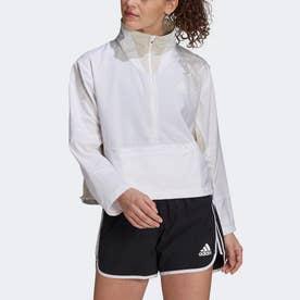 PRIMEBLUE アダプト ランニングジャケット / Primeblue Adapt Running Jacket (ホワイト)