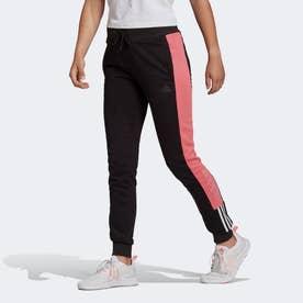 エッセンシャルズ ロゴ カラーブロック パンツ / Essentials Logo Colorblock Pants (ブラック)