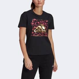 ビッグロゴ フォイル グラフィック 半袖Tシャツ / Big Logo Foil Graphic Tee (ブラック)